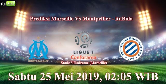 Prediksi Marseille Vs Montpellier - ituBola