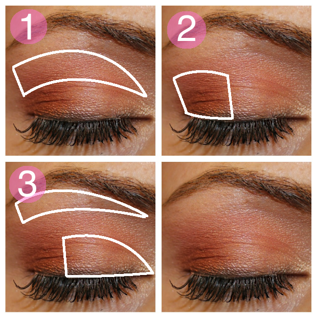 Eye makeup tutorials step by step