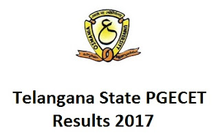 TS PGECET Results 2017