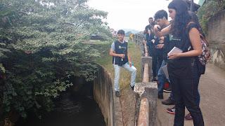 Estudantes de Engenharia Ambiental do UNIFESO em visita técnica à Microbacia Hidrográfica Urbana do Rio Fischer