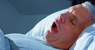 الشخير اثناء النوم يسبب مرض خطير