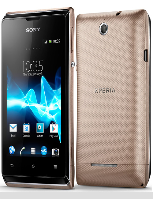 Sony Xperia E dual Pictures