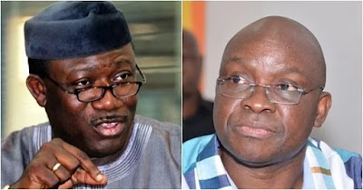 fayemi seals off two buildings linked to fayose