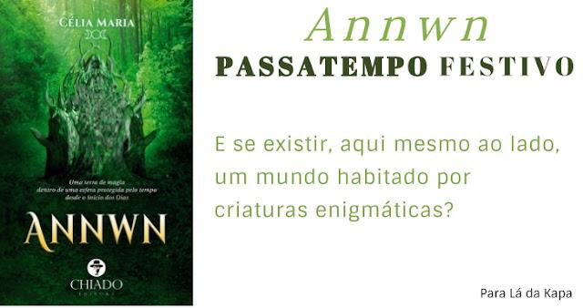 Annwn, passatempo, livro, Célia Maria