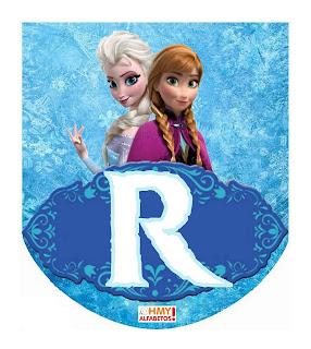 Banderines para Fiesta de Frozen para Descargar Gratis. Free Download Frozen Banners.