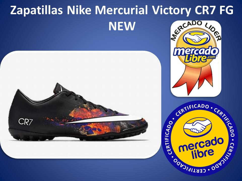 Zapatillas Nike Mercurial Victory Cr7 Tf Futbol New   374997.0 ... 5638a5763c976