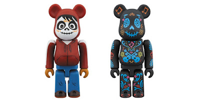 Coco Be@rbrick Vinyl Figures by Medicom Toy x Disney