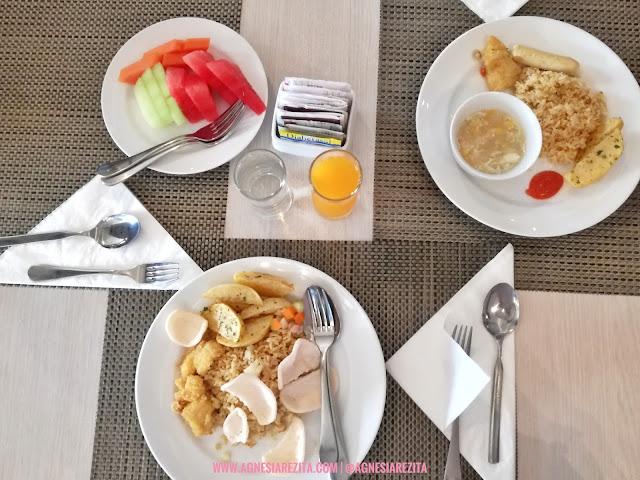 Sarapan di GP Mega Kuningan Hotel Jakarta