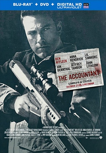 The Accountant 2016 English 480p BRRip 350mb ESubs