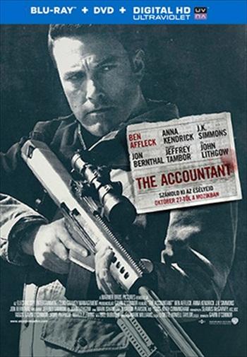 The Accountant 2016 English 480p BRRip 350mb ESubs