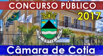 apostila concurso Câmara de Cotia 2017