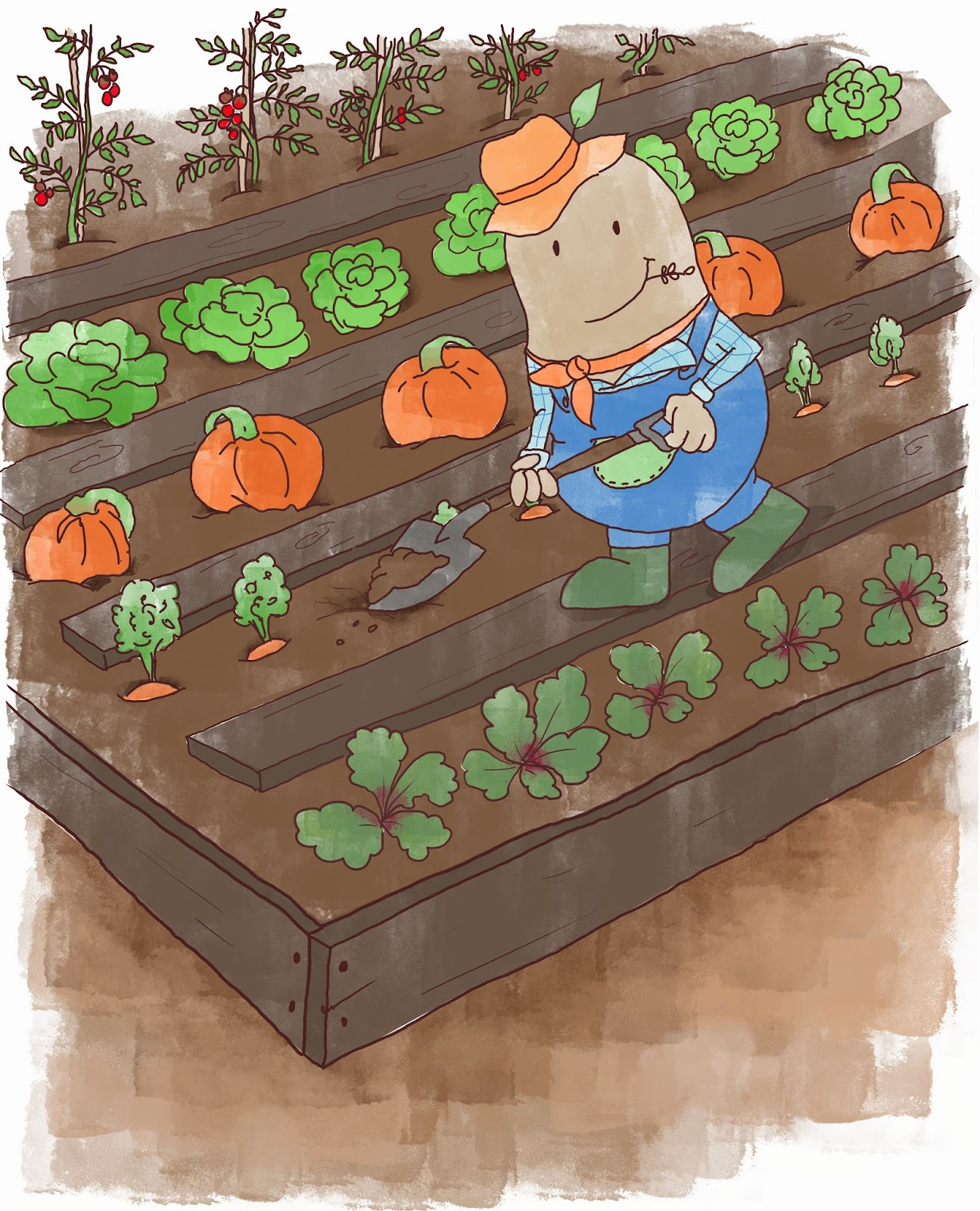 Small Year Round Veg Patch: Kids' Book Review: Guest Post: Bianca C Ross