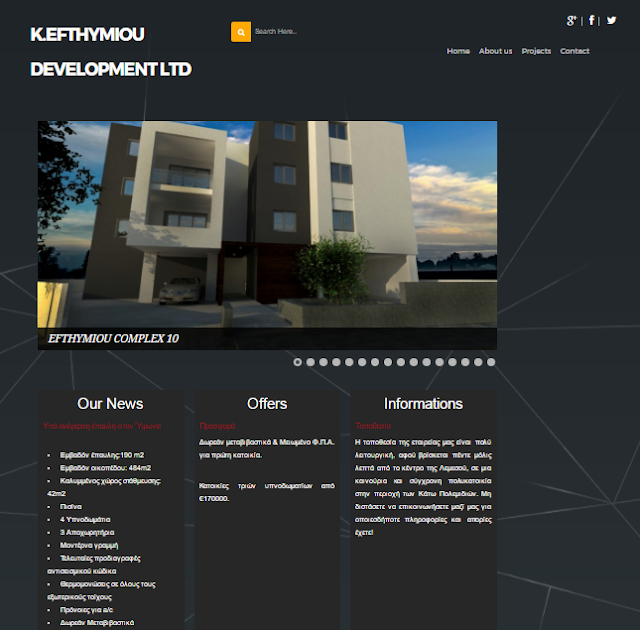 K.EFTHYMIOU DEVELOPMENT LTD
