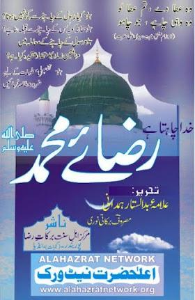 Khuda Chahta Hai Raza E Muhammad Urdu Islamic Book