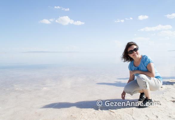 Kapadokya dönüş yolunda Tuz gölü gezintimiz