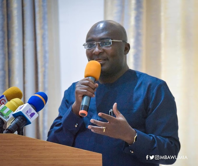 Government Instituting Strong Digital Culture to Solve Country's Problems - Vice President Mahamudu Bawumia