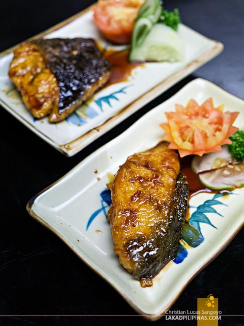 Hatsu Hana-Tei Makati Fish in Teriyaki