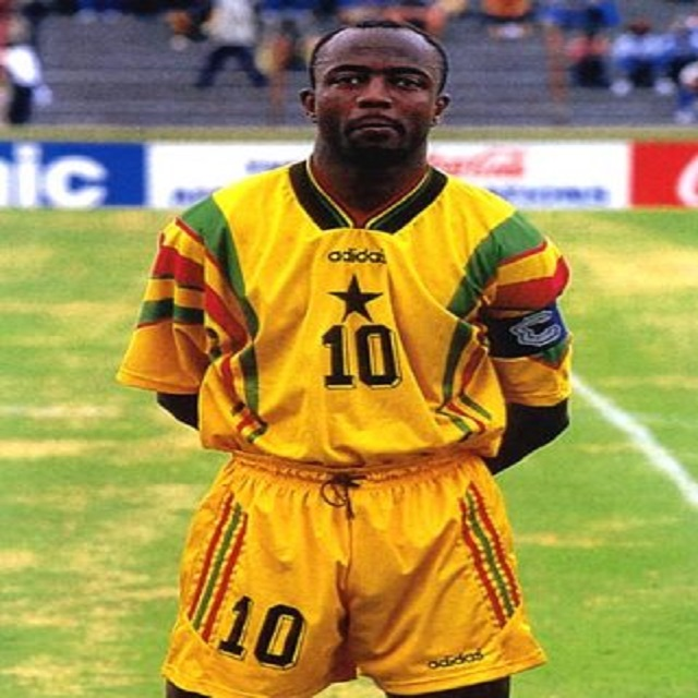 Ghana legend Abedi Pele to feature this afternoon