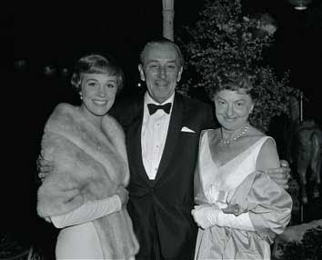 Julie Andrews, Walt Disney, P.L Travers premiere Mary Poppins