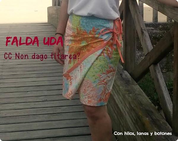 Con hilos, lanas y botones: Falda UDA CC Non dago titarea?