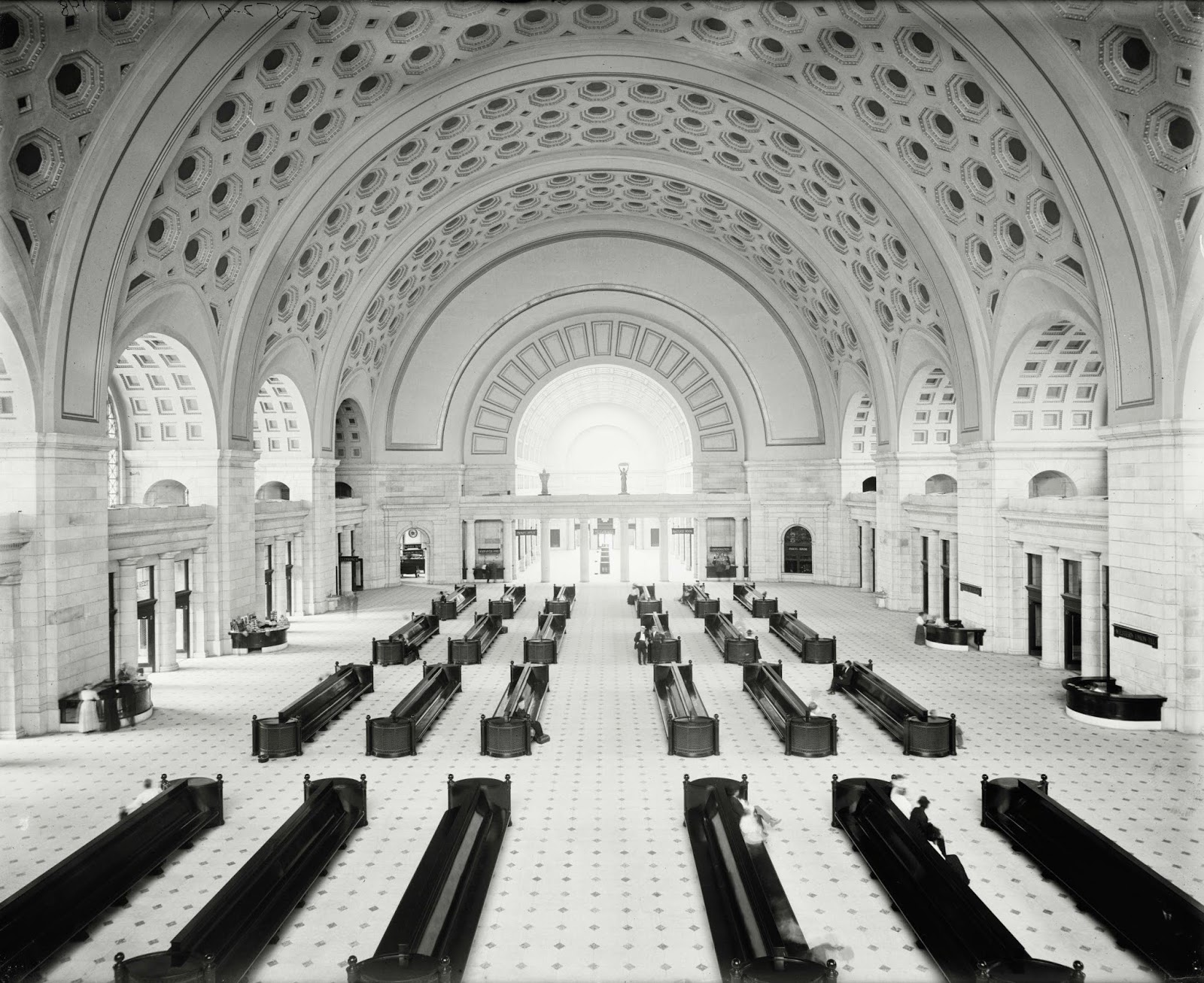 Ultimate Collection Of Rare Historical Photos. A Big Piece Of History (200 Pictures) - Union Station