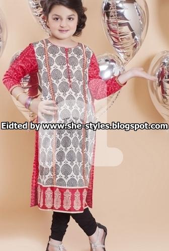 60b86cca6862 Nishat Kids Eid Collection 2015-2016   Nishat Linen Eid Collection ...
