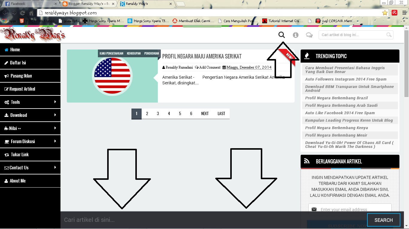 Membuat Search Design Show Hide Responsive Di Blog