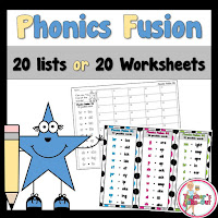 Phonics Fusion Word Lists