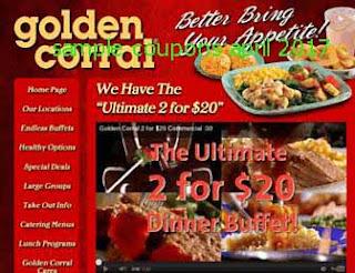 Golden Corral coupons april