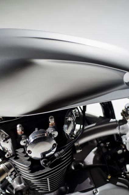 Yamaha XS650 By Auto Fabrica Hell Kustom