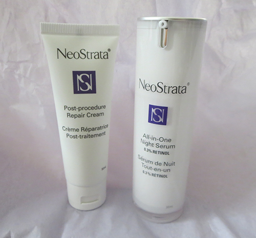 NeoStrata Post-Procedure Repair Cream and NeoStrata All-in-One Night Serum  ~ #Review #Giveaway