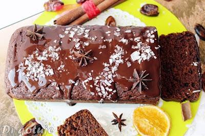 Zdrowe ciasto kawowo-korzenne (FIT)