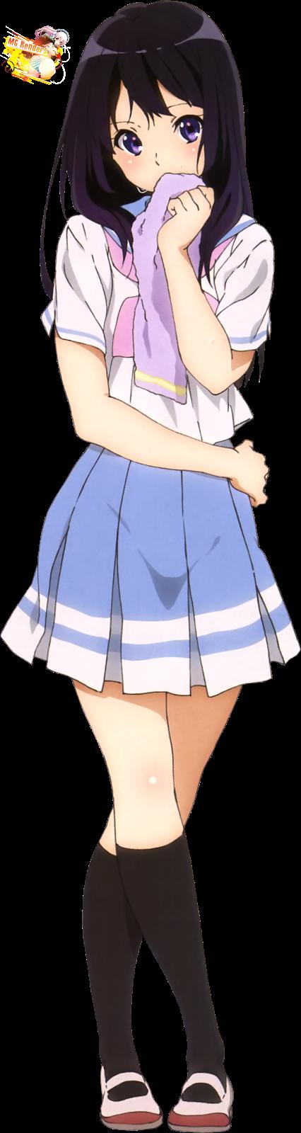 Tags: Anime, Render,  Hibike! Euphonium,  Kousaka Reina,  Skirt, PNG, Image, Picture