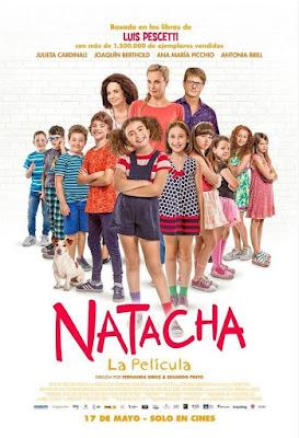 Natacha, La Película 2017 DVD R4 NTSC Latino