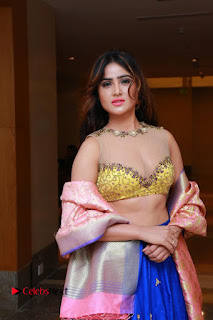 Actress Model Sony Charista Latest Pictures in Lehenga Choli  0012.JPG