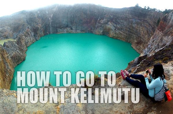 Traveling to Mount Kelimutu