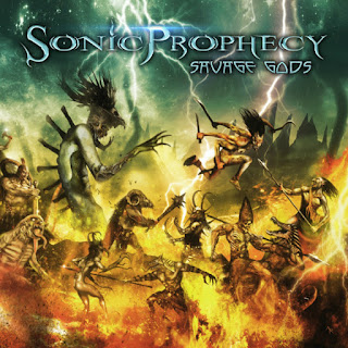 "Sonic Prophecy - ""Unholy Blood"" (audio) from the album ""Savage Gods"""