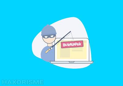 membuat web phising bukalapak