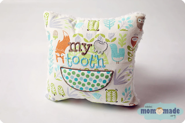 Custom Tooth Fairy Pillow