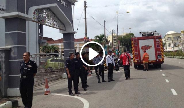 Video: Mahkamah Kota Bharu Dikejutkan Dengan Panggilan Bom