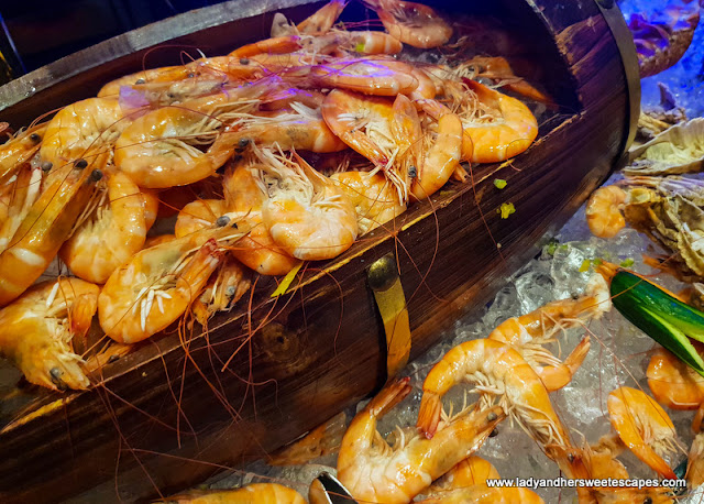 shrimps in Mercure Barsha Heights