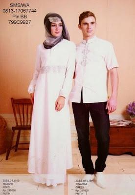 Model Busana Muslim Couple Zoya (Gamis dan KoKo) Terbaru
