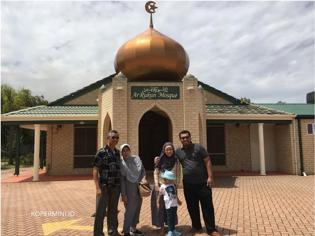 Masjid 3 bangsa indonesia, malaysia, singapura