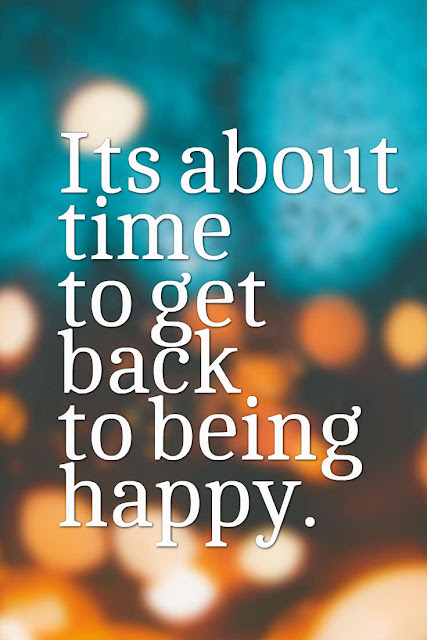 Its time to focus on your happiness journey.