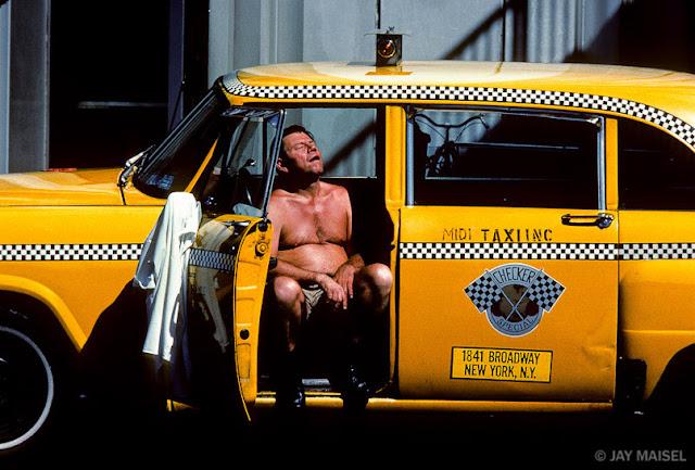 Jay Maisel - Hot_cabbie