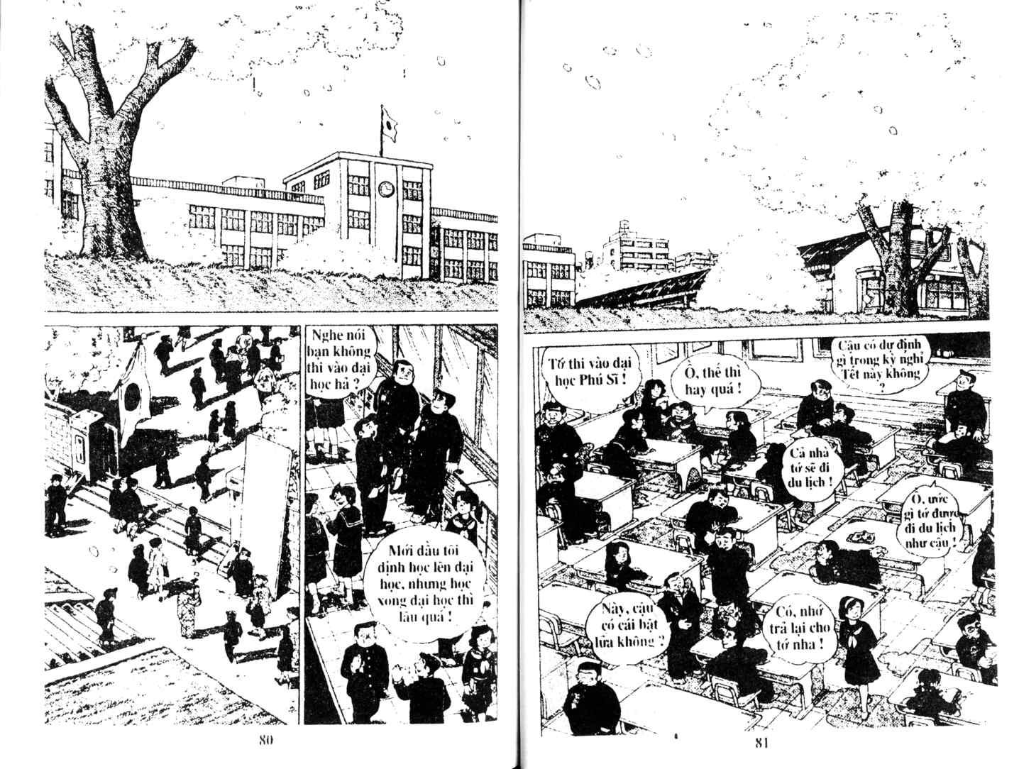 Ashita Tenki ni Naare chapter 14 trang 39