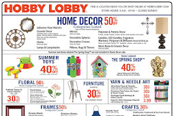 Hobby Lobby Weekly Ad May 20 - 26, 2018