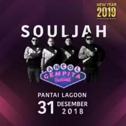 #Ancol - Promo Event Ancol Gempita Festival Akhir Tahun Souljah Musik (31 Des 2018)