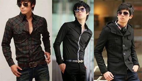 model baju korea pria