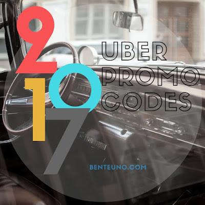 2017 UBER Promo codes | Benteuno.com